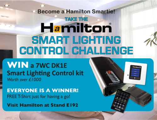 Win a Hamilton Smart Lighting Control Kit worth over £1000