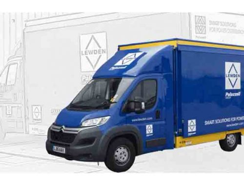 Lewden attend ELEX Harrogate for the first time with the brand new display van