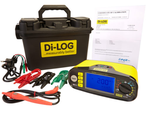 Special prices at the Manchester show for the award winning 18th Edition Multi Function Testers from Di-Log