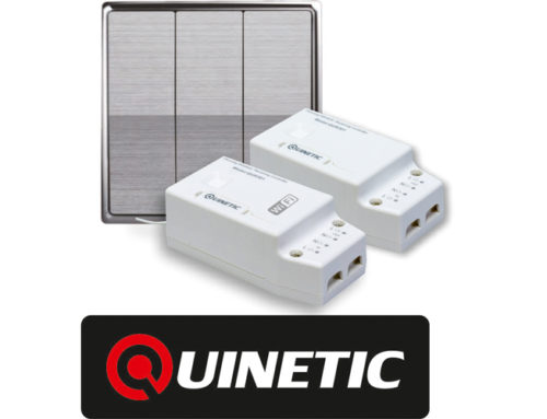 Get 10% discount on any purchase from the Quinetic Wireless Switch range at the Exeter show