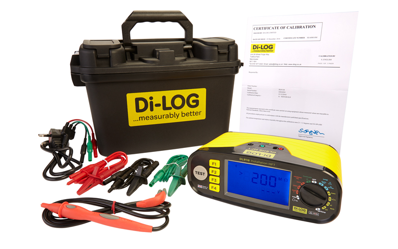 Special prices at the Coventry show for the award winning 18th Edition Multi Function Testers from Di-Log